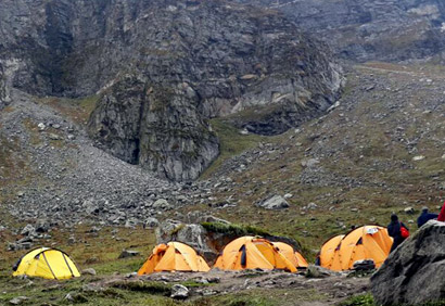 Hampta Pass trek`